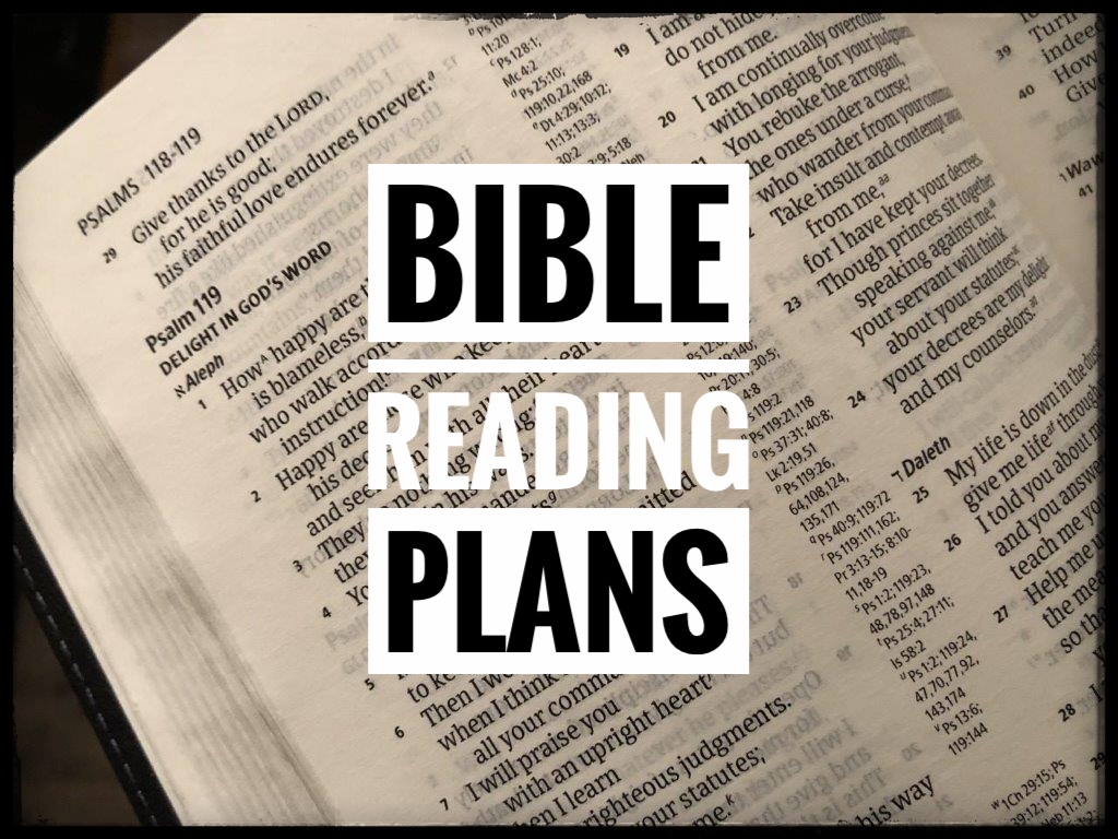 Bible Reading Plans for 2020